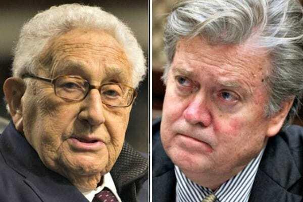 Kissinger Bannon