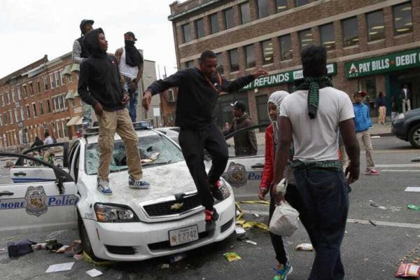 Baltimore Protest - Black Lives Matter